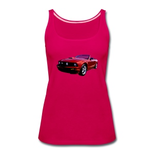 5th Gen Mustang Convertible Lady Tank - Women's Premium Tank Top