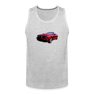 5th Gen Mustang Convertible Men Tank - Men's Premium Tank