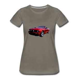 5th Gen Mustang Convertible Lady Tee - Women's Premium T-Shirt