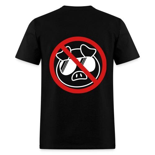 No Pigs Tee - Men's T-Shirt