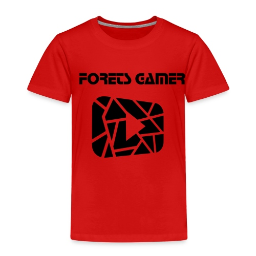 Camisa Oficial de YouTube  - Toddler Premium T-Shirt