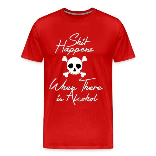 Shit Happens  - Men's Premium T-Shirt