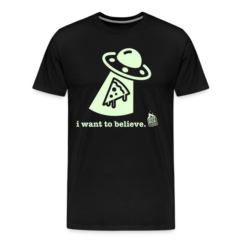 I want to believe tee - Men's Premium T-Shirt