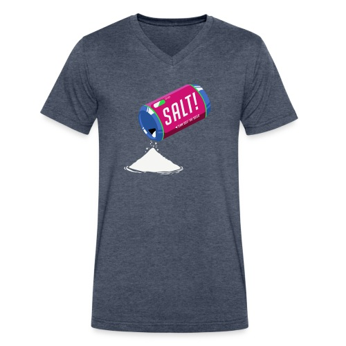 Salt-Vee - Men's V-Neck T-Shirt by Canvas