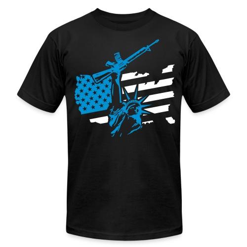 Raw Liberty - Men's  Jersey T-Shirt