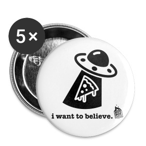 want to believe buttons - Small Buttons