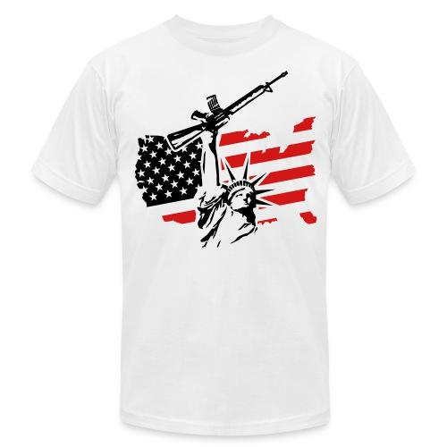 Raw Liberty Red - Men's  Jersey T-Shirt