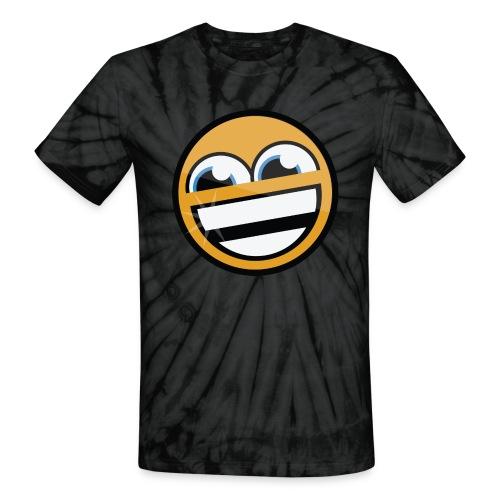 Trolling Smiley Face Tee - Unisex Tie Dye T-Shirt