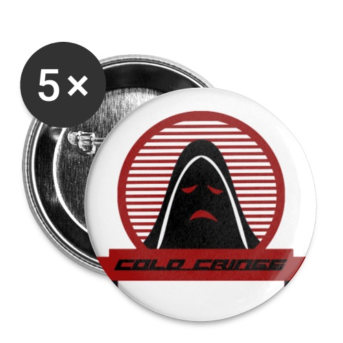 Cold Cringe Pins - Buttons small 1'' (5-pack)
