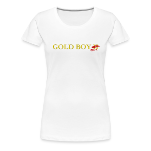 Gold Boy One (Femme) - Women's Premium T-Shirt
