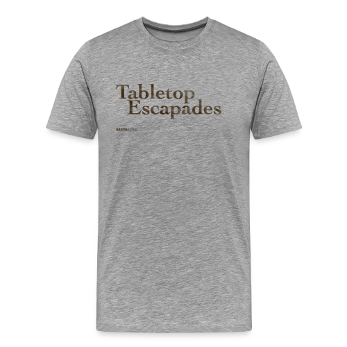 Tabletop Escapades Logo - Men's Premium T-Shirt
