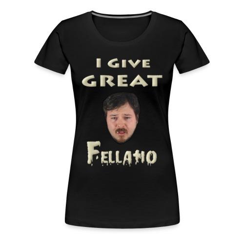 Deathtoll Fellatio Shirt (Women's) - Women's Premium T-Shirt