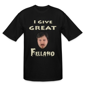 Deathtoll Fellatio Tall Shirt - Men's Tall T-Shirt