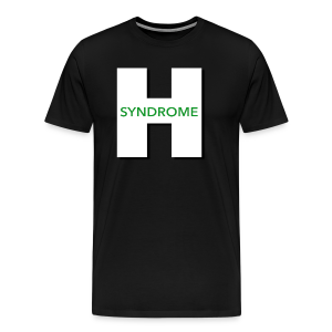 Huber Syndrome Logo - Men's Premium T-Shirt