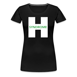 Huber Syndrome Logo - Women's Premium T-Shirt