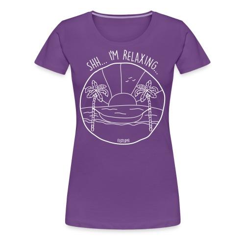 fastASMR Relaxing - Women's Premium T-Shirt
