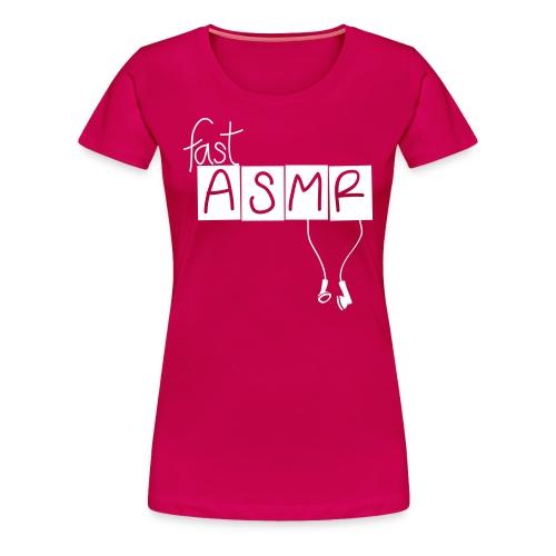 fastASMR Classic Logo - Women's Premium T-Shirt