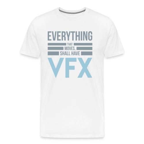 VFX T-shirt - White - Men - Men's Premium T-Shirt