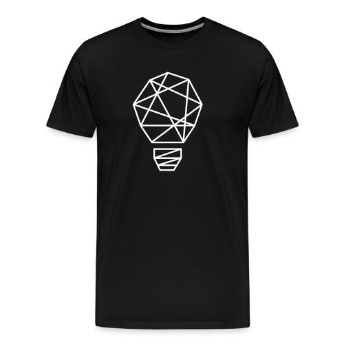 Let there be light minimal t-shirt design - Men's Premium T-Shirt