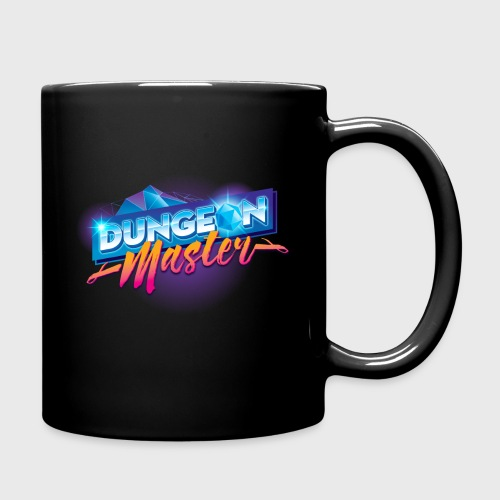 Dungeon Master & Dragons Outrun - Full Color Mug