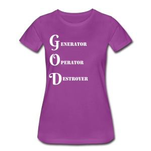 I AM GODDESS - Women's Premium T-Shirt