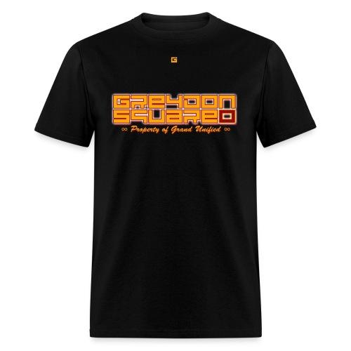 Black Out Greydon Tee w/ Lyrics - Men's T-Shirt