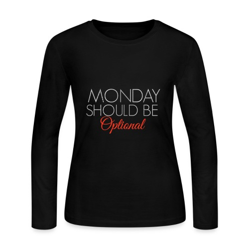 Monday - Women's Long Sleeve Jersey T-Shirt