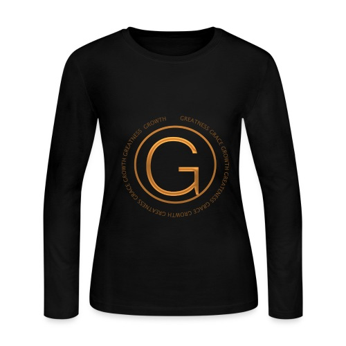 Grace, Growth, Greatness - Women's Long Sleeve Jersey T-Shirt