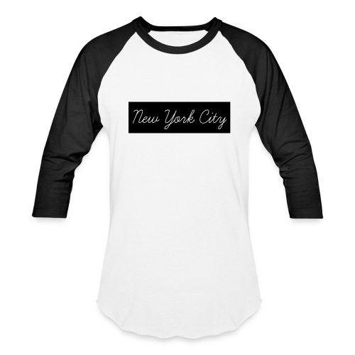 New York City Baseball Tee - Baseball T-Shirt