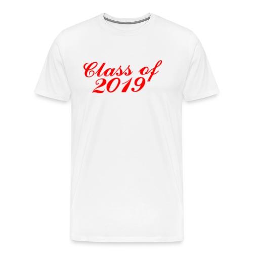 Class of 2019 Mens premium T-Shirt CUSTOM HAS WORD GABE ON THE BACK - Men's Premium T-Shirt