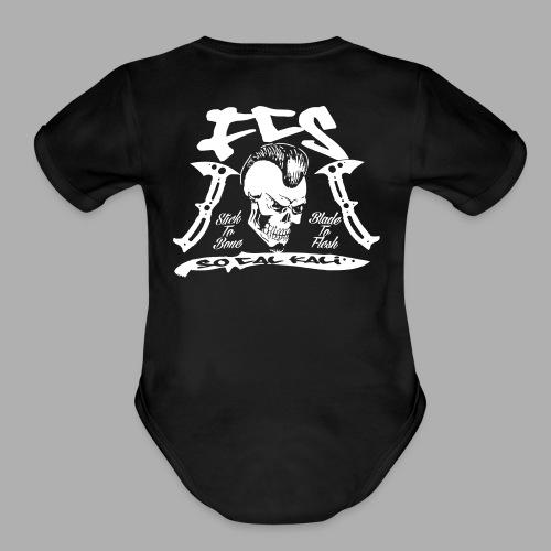 FCS Cali Crew Baby Short Sleeve One Piece - Organic Short Sleeve Baby Bodysuit