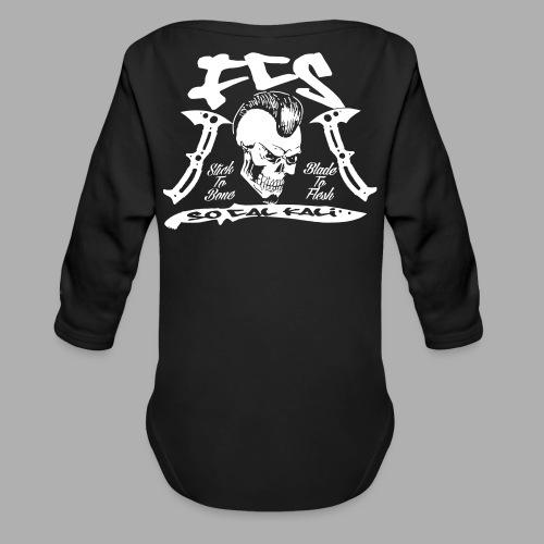 FCS Cali Crew Long Sleeve One Piece - Organic Long Sleeve Baby Bodysuit
