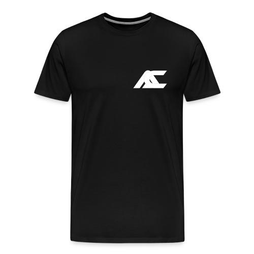 Accual Medium Logo T-Shirt - Men's Premium T-Shirt