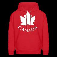 Hoodies ~ Men's Hoodie ~ Men's Canada Hoodie Canada Maple Leaf Shirts