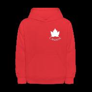 Sweatshirts ~ Kids' Hoodie ~ Kid's Canada Hoodies Maple Leaf Souvenir Canada Sweatshirts