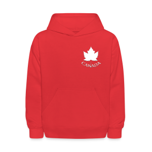 Kid's Canada Hoodies Maple Leaf Souvenir Canada Sweatshirts - Kids' Hoodie