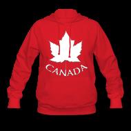 Hoodies ~ Women's Hoodie ~ Women's Canada Hoodie Canada Maple Leaf Shirts