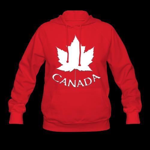 Women's Canada Hoodie Canada Maple Leaf Shirts - Women's Hoodie