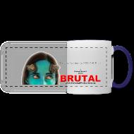 Mugs & Drinkware ~ Panoramic Mug ~ BRUTAL teaser poster