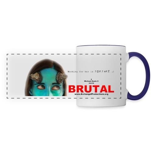 BRUTAL teaser poster - Panoramic Mug