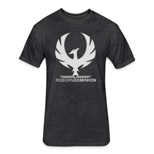 Reborn Dominion Premium Phoenix T-Shirt - Fitted Cotton/Poly T-Shirt by Next Level