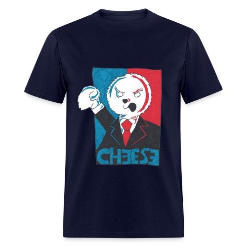 Puppet Devall :Cheese - Men's T-Shirt