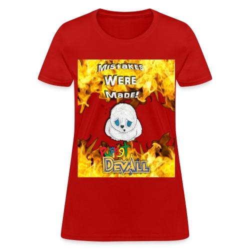 Puppet Devall Mistakes Were Made Womens T-Shirt - Women's T-Shirt