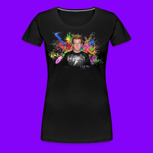 Women's Paint Splatter Tee - Women's Premium T-Shirt