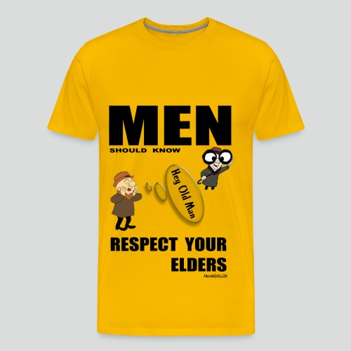 RESPECT YOUR ELDERS  2.0 (Premium ) - Men's Premium T-Shirt