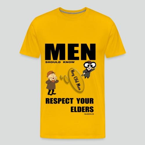 RESPECT YOUR ELDERS  2.0 (Premium ) - Men's Premium T-Shirt