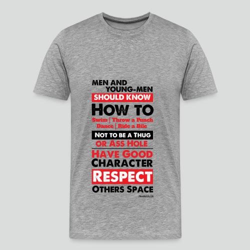 Men Should Know 7.0 (Premium ) - Men's Premium T-Shirt