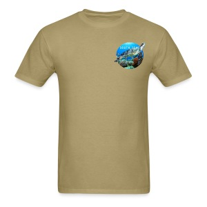Turtle from South Seas Men's T-Shirt - Men's T-Shirt