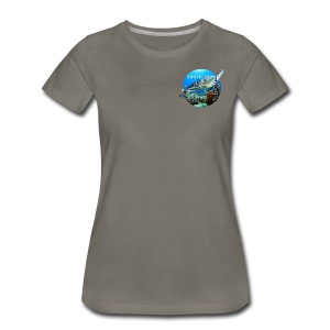 Turtle from South Seas Women's Premium T-Shirt - Women's Premium T-Shirt