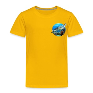 Turtle from South Seas Toddler Premium T-Shirt - Toddler Premium T-Shirt